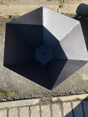Костровая чаша шестиугольная