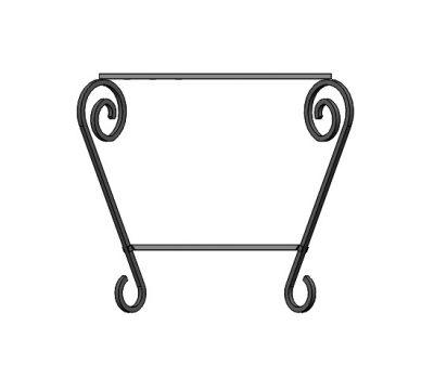 Подставка для мангала